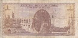 Syrie - Billet De 1 Pound - 1967 - Syrie