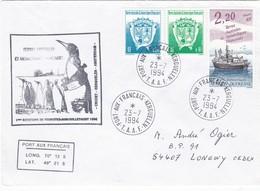 TAAF213 - Port Aux Français 23 Juillet 1994 - Französische Süd- Und Antarktisgebiete (TAAF)