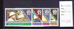 TIMBRE. .......................SWAZILAND 429/432 - Swaziland (1968-...)