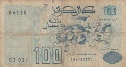 Algérie - Billet De 100 Dinars - 21 Mai 1992 - Algérie