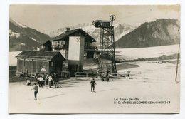CPA  73 : ND  De BELLECOMBE    Le Télé Ski  VOIR  DESCRIPTIF  §§§ - Sonstige Gemeinden