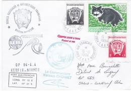 TAAF217 - Marion Dufresne - OP 94/4.4 - Port Aux Français 15 Octobre 1994 - Französische Süd- Und Antarktisgebiete (TAAF)