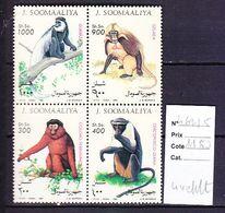 TIMBRE. .....................SOOMAALIYA 462/465 - Stamps