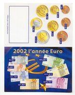 Petit Calendrier - 2002 L'année De Euro . - Calendriers