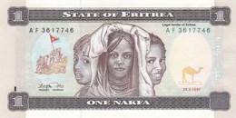 Erythrée - Billet De 1 Nakfa - 24 Mai 1997 - Neuf - Erythrée