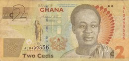 Ghana - Billet De 2 Cedis - Dr. Kwame Nkrumah - 6 Mars 2010 - Ghana