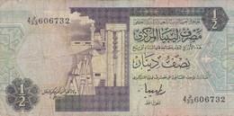 Libye - Billet De 1/2 Dinar - 1990 - Libye