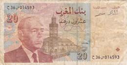 Maroc - Billet De 20 Dirhams - 1996 - Hassan II - Maroc