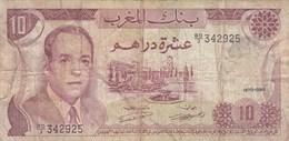 Maroc - Billet De 10 Dirhams - 1970 - Hassan II - Maroc