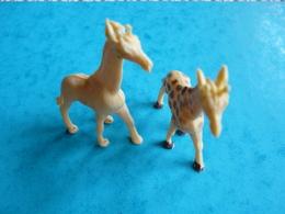 2 Figurines Animaux Animal Girafe Giraffe Jungle  (article 22) - Figurines