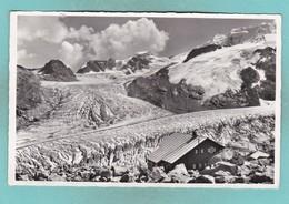 Old Post Card Of Boval Hutte,Morteratsch-Gletscher,Bündner Alps,Switzerland,Q79. - Other