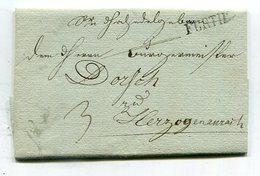 Bayern / 1825 / Vorphila-Brief L1-Stempel FUERTH (25285) - Allemagne