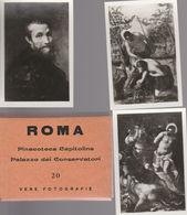 ROMA PINACOTECA CAPITOLINA PALAZZO DEI CONSERVATORI 20 FOTO 9,5 X 6,5 Cm (DOC5 - Riproduzioni