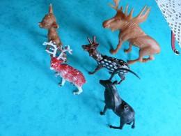 5 Figurines Animal Animaux Jungle  (article 25) - Figurines