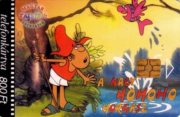 TARJETA TELEFONICA DE HUNGRIA. COMICS - El Gran Pescador Ho-ho-ho: 6/5 Peces Voladores. HU-K-2003-04. (203) - Hungría