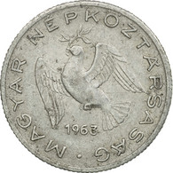Monnaie, Hongrie, 10 Filler, 1963, Budapest, TB+, Aluminium, KM:547 - Hungary