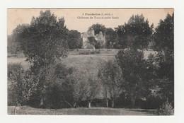 Fondettes.37.Indre Et Loire.Château De Taillé (côté Sud).1924 - Fondettes