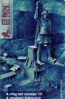 TARJETA TELEFONICA DE HUNGRIA. The Seven Wonders Of The World. RHODOS. HU-P-1995-17B. (115) - Hungría
