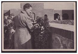 """DT- Reich (003400) Propaganda Sammelbild """"Deutschland Erwacht""""Bild  104, Der Führer Ehrt Die Gefallenen In Tannberg 1931 - Briefe U. Dokumente"""
