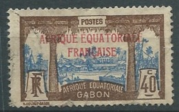 Gabon - Yvert N° 100  Oblitéré  -  Cw32527 - Gabon (1886-1936)