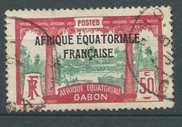 Gabon - Yvert N° 103  Oblitéré  -  Cw32528 - Gabon (1886-1936)