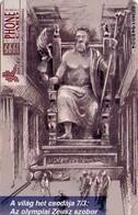 TARJETA TELEFONICA DE HUNGRIA. The Seven Wonders Of The World. OLYMPIA. HU-P-1995-33B. (114) - Hungría