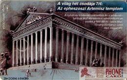 TARJETA TELEFONICA DE HUNGRIA. The Seven Wonders Of The World. EPHESOS. HU-P-1995-38A. (113) - Hungría