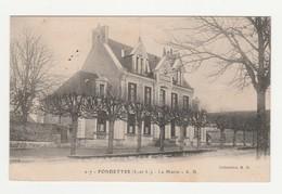 Fondettes.37.Indre Et Loire.La Mairie.1917 - Fondettes