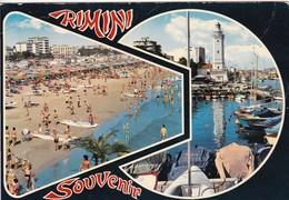 Rimini, Vedutine, 1975 - Viaggiata - Rimini