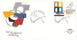 Nederland - FDC - Wereldtentoonstelling Sevilla/Expo '92 - Tulpen/kaart Van Nederland - NVPH E291 - 1992 – Sevilla (Spanje)