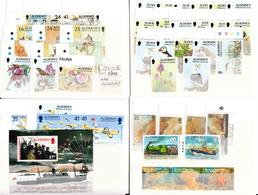 ALDERNEY - LOS PRIMEROS 102 SELLOS - 1 A 102  -TEMÁTICAS FAUNA- FLORA - BARCOS - Alderney