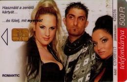 TARJETA TELEFONICA DE HUNGRIA. VIVA: ROMANTIC. HU-P-2003-46. (124) - Hungría