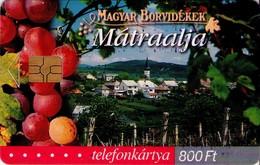 TARJETA TELEFONICA DE HUNGRIA. Winelands: Mátraalja. HU-P-2003-23. (192) - Hungría