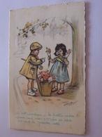 GERMAINE BOURET   Enfants  Marchande De Fleurs M  D PARIS - Mailick, Alfred