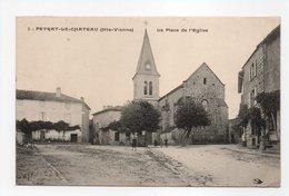 - CPA PEYRAT-LE-CHATEAU (87) - La Place De L'Eglise - Editions L'Hirondelle N° 3 - - France