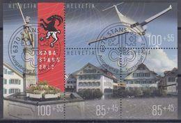SUIZA 2012 Nº 2183/86 USADO PRIMER DIA - Suisse