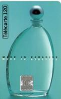 N°02 / TÉLÉCARTE 1996 CACHAREL MADE IN PARADISE   / 120U - VOIR DOS - Perfume
