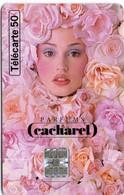 N°02 / TÉLÉCARTE 1996 CACHAREL EAU D'EDEN / 50U - VOIR DOS - Perfume