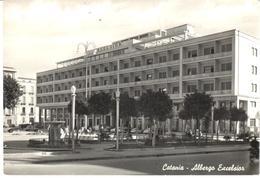 POSTAL   CATANIA  -ITALIA  -HOTEL EXCELSIOR  (ALBERGO EXCELSIOR) - Catania