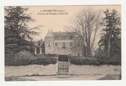 Fondettes.37.Indre Et Loire.Château De Chatigny (Coté Sud). - Fondettes