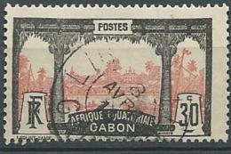 Gabon - Yvert N°  57 Oblitéré  -   Cw 32609 - Gabun (1886-1936)