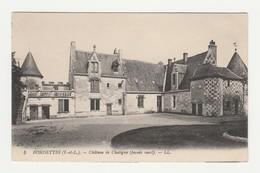 Fondettes.37.Indre Et Loire.Château De Chatigny (façade Ouest). - Fondettes