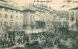 83 TOULON  /  La Place Du Marché / - Toulon
