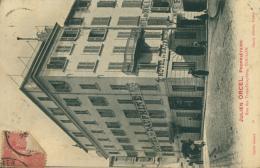 83 TOULON  /  Rue Des Trois-Dauphins Hôtel Du Dauphiné Julien Orcel Propriétaire / CARTE RARE - Toulon