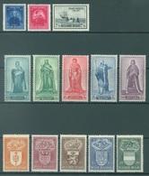 BELGIQUE - 1947 - MNH/***- LUXE - YEAR COMPLETE  - COB 748-760  - Lot 17987 - QUOTE 100.00 EUR - Belgien