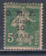 Cilicie N° 90 X 10 Pa Sur 5 C. Vert  Trace De  Charnière Sinon TB - Cilicia (1919-1921)