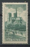 France 1947 - N° 776 - Notre Dame De Paris - Neuf * - France