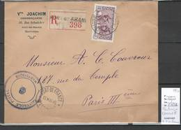 Martinique - Lettre De Fort De France Recommandée - Mai 1940 - CENSUREE - Martinique (1886-1947)