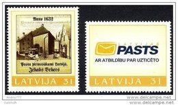 LATVIA 2006 Personalised Stamps Set Of 2 MNH / **.  Michel 676-77 - Latvia