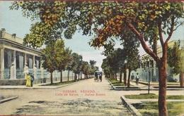 Cuba Havana Habana Vedado Calle De Banos Street Colonial Period Rare Old Postcard Tarjeta Postal - Cuba